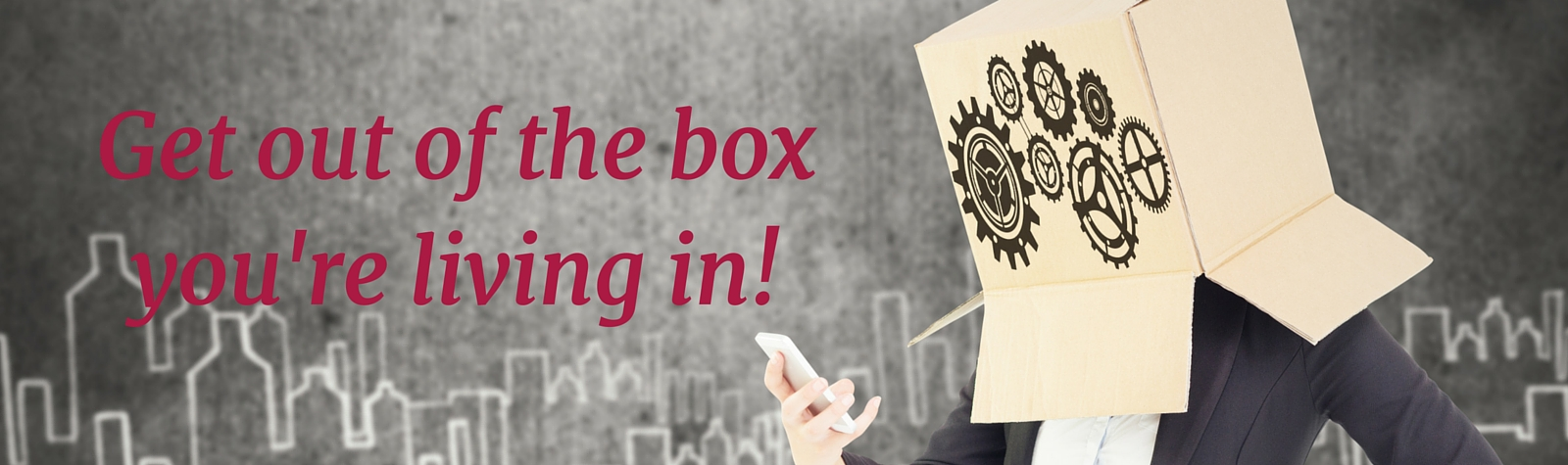 Get out of the box you're living in with Professional Co-Active Coach Beth McKay