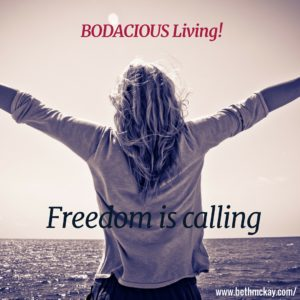 Freedom is calling
